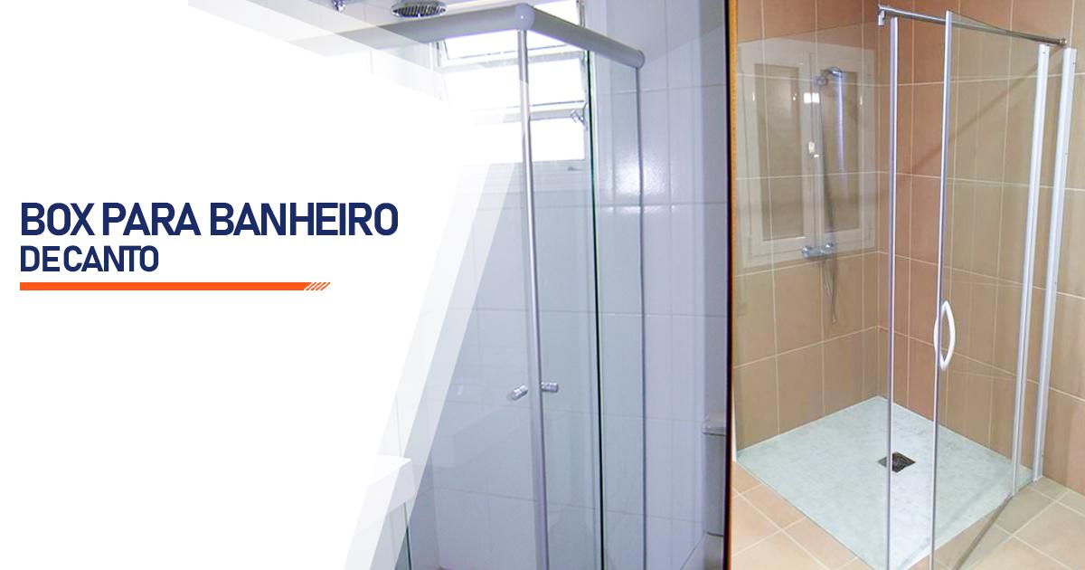 Box de Canto para Banheiro  Santo André