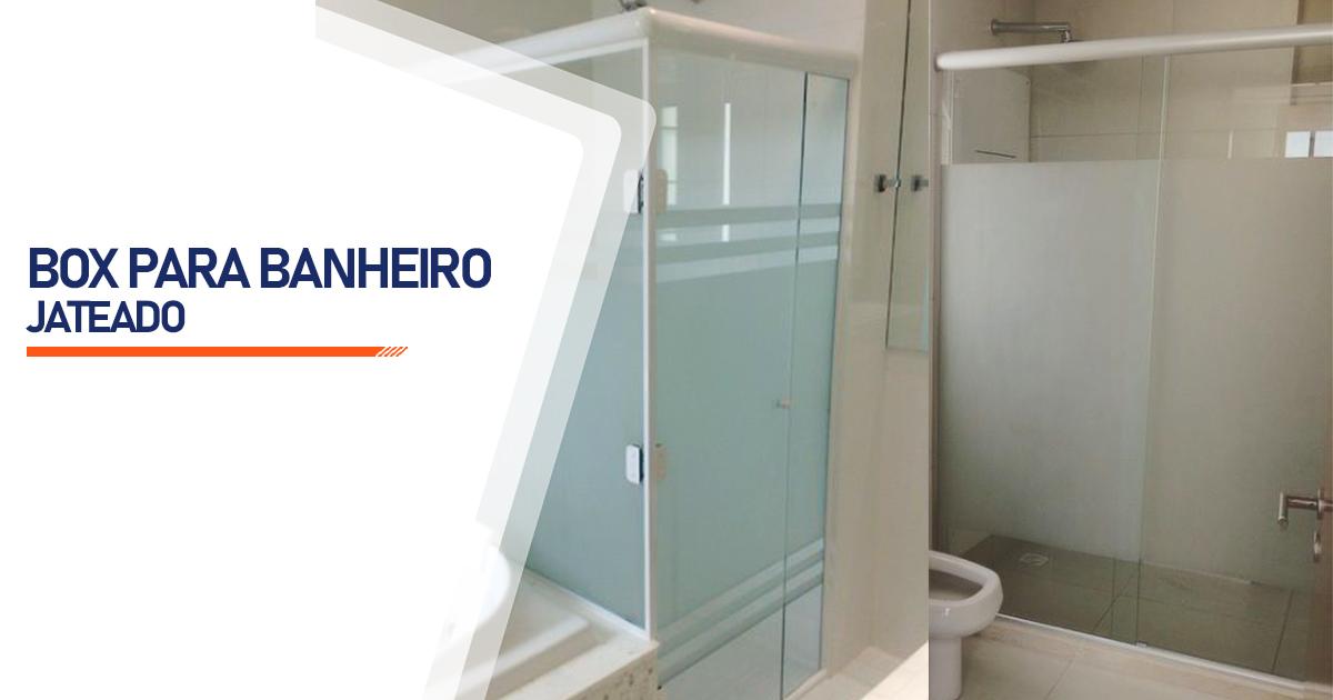 Box Jateado para Banheiro Santo André