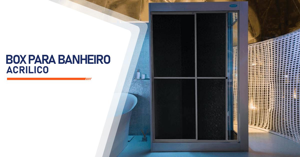 Box para Banheiro Acrílico Santo André