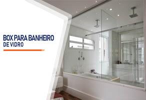 Box para Banheiro de Vidro Santo André