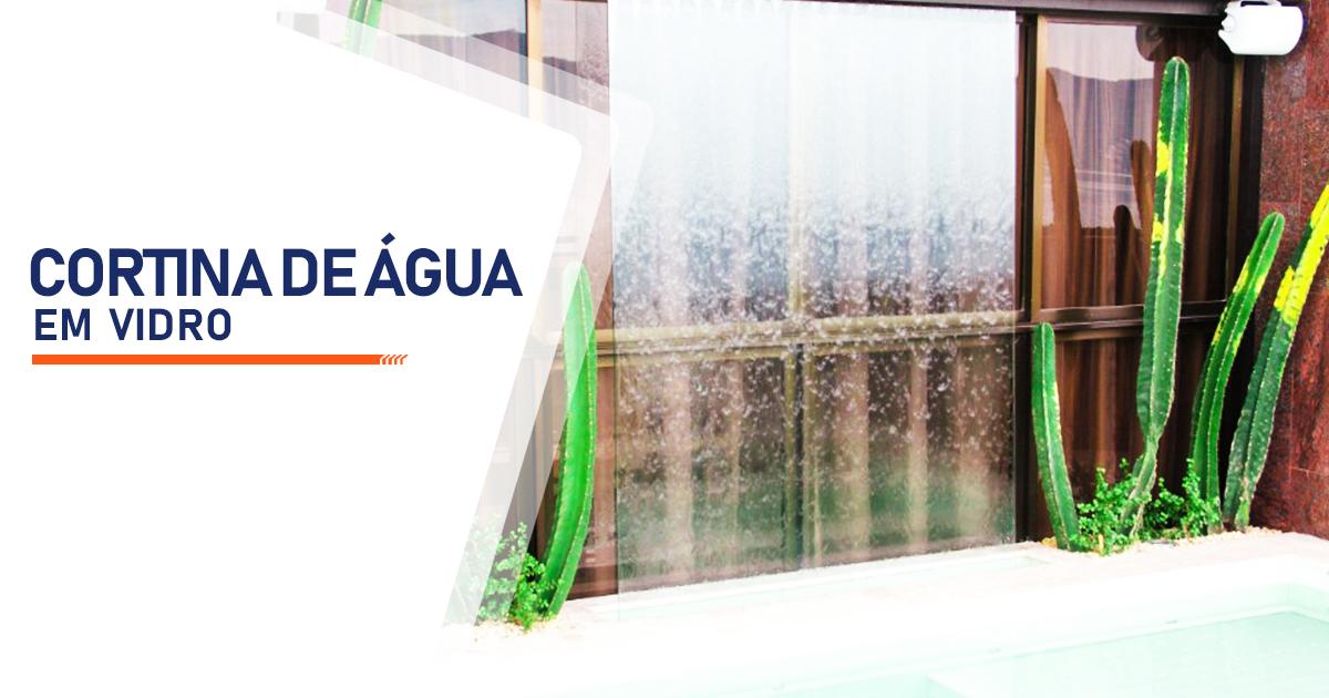 Cortina de Agua em Vidro Santo André