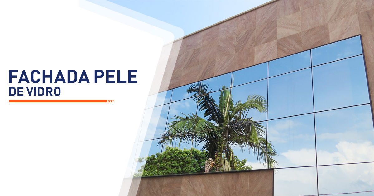 Fachada Pele de Vidro Santo André