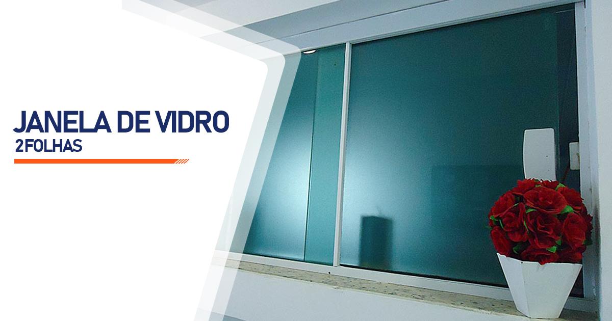 Janela De Vidro 2 Folhas Santo André