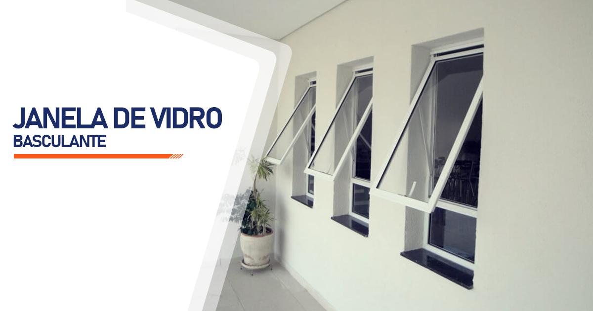 Janela De Vidro Basculante Santo André