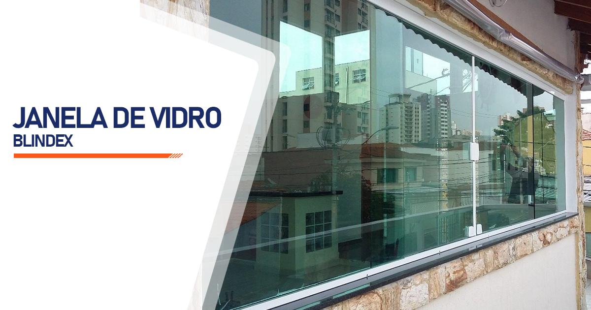Janela De Vidro Blindex Santo André