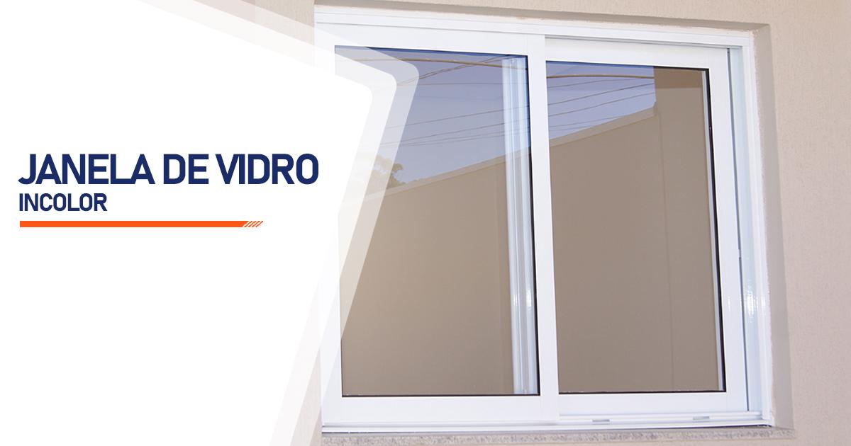 Janela De Vidro Incolor Santo André