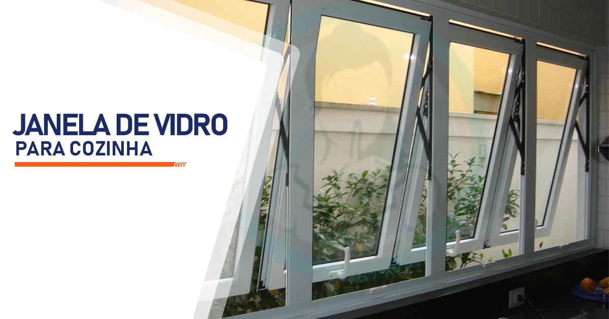 Janela de Vidro para Cozinha Santo André