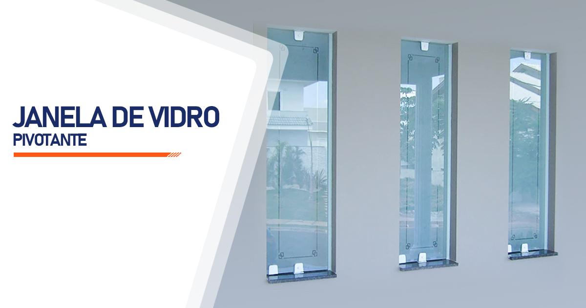 Janela Pivotante De Vidro Santo André