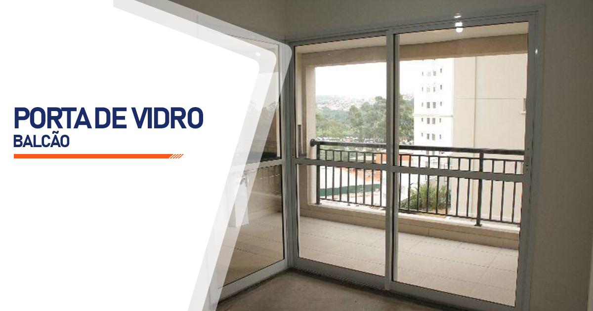 Porta Balcão De Vidro Santo André