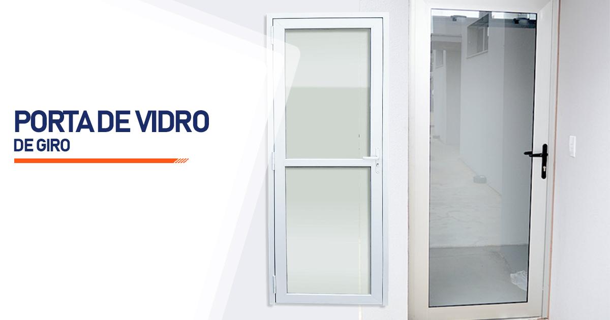 Porta De Giro De Vidro Santo André
