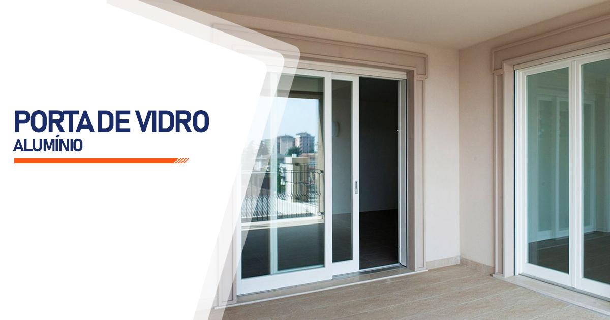Porta De Vidro Aluminio Santo André