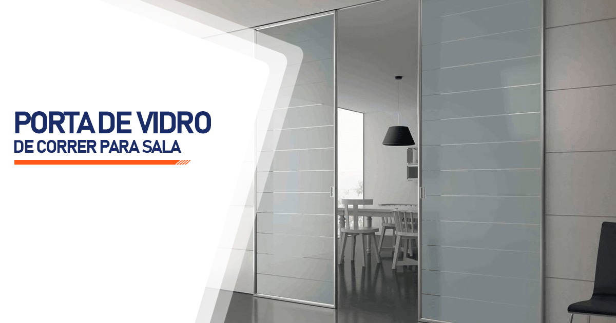 Porta De Vidro De Correr Para Sala Santo André