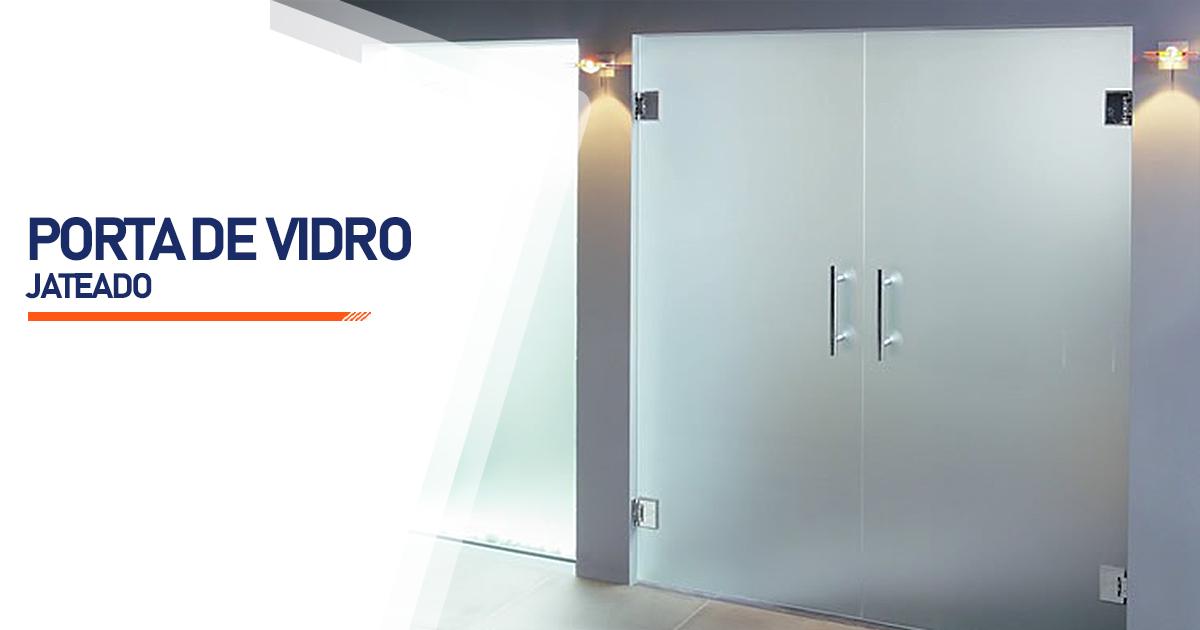 Porta De Vidro Jateado Santo André