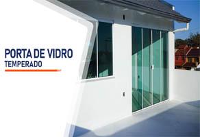 Porta de Vidro Temperado Santo André