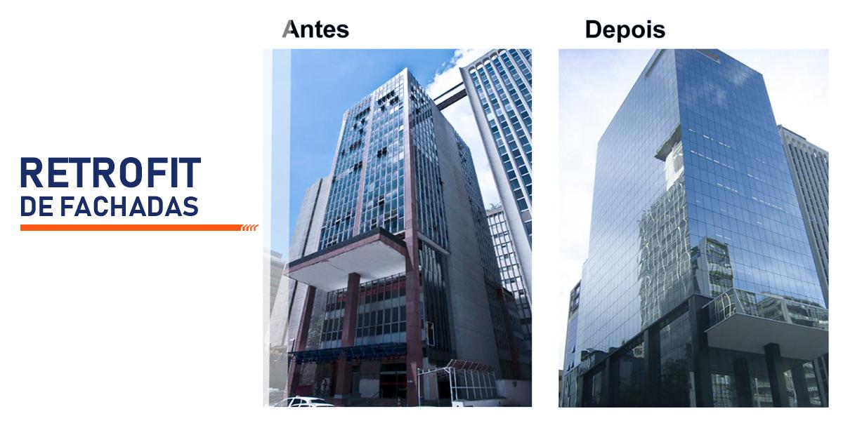 Retrofit de Fachadas Santo André